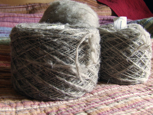 spin wool