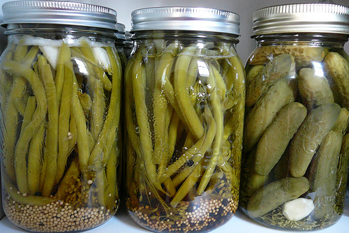 Pickling - frugal