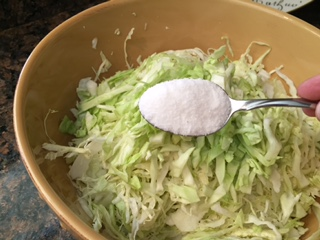 Cabbage - Salting